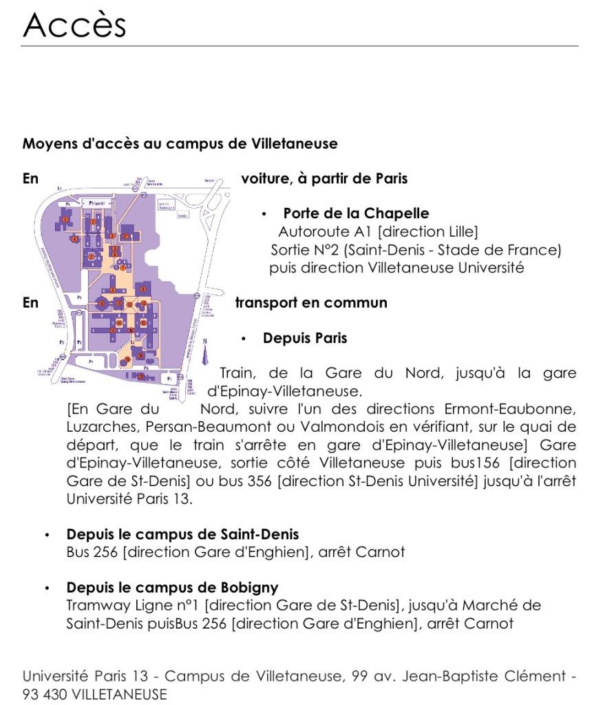 Venir à Paris 13